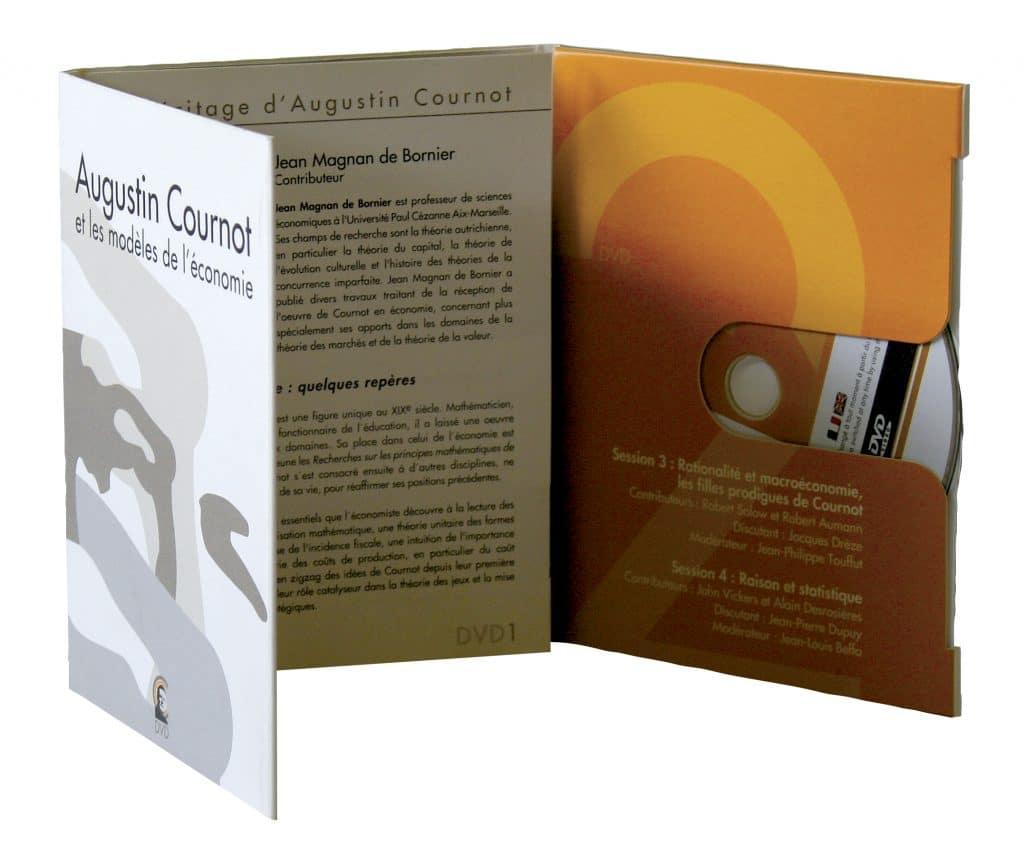 livret carton à cd sur mesure