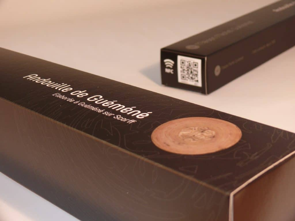 packaging intelligent qr code