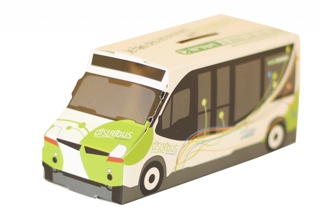 boitage carton bus