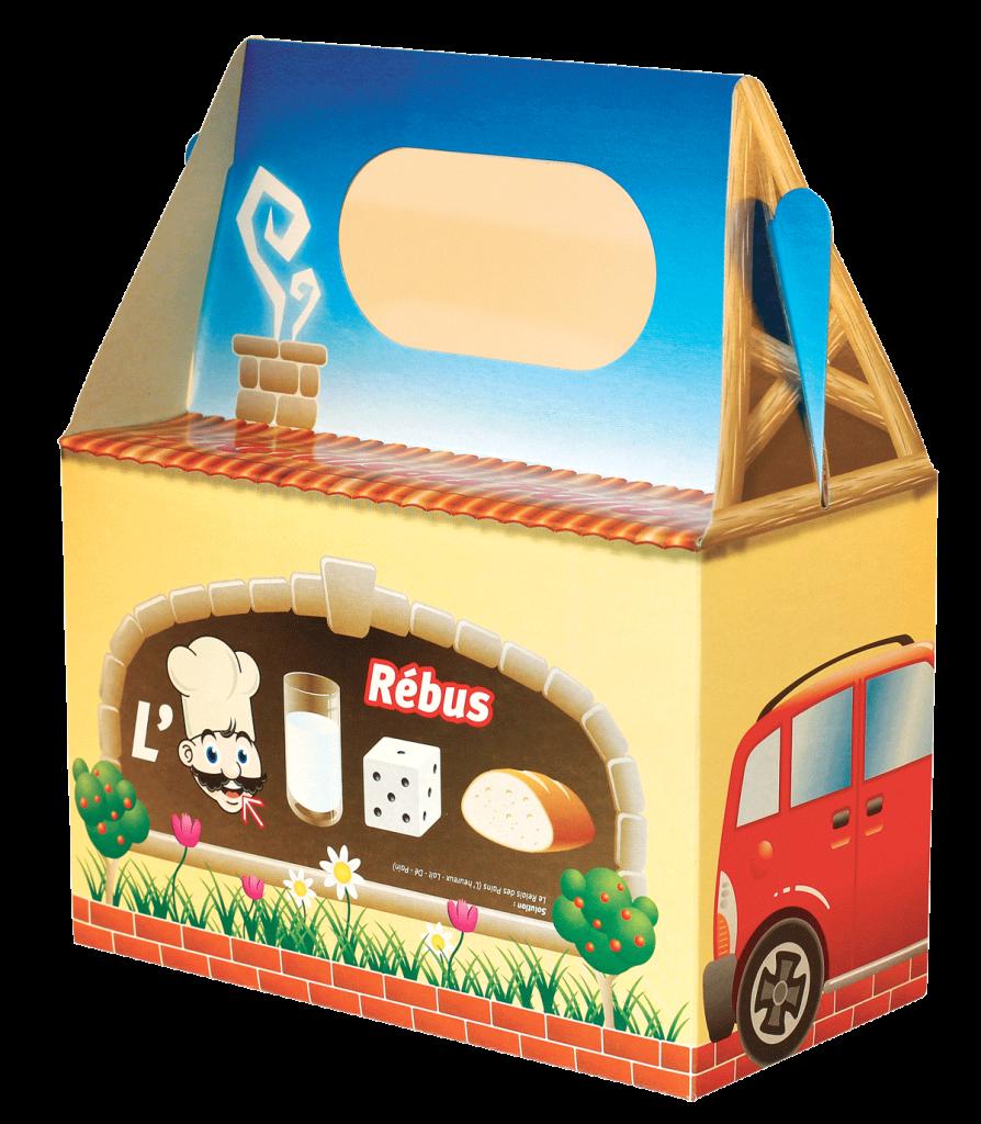 box (lunch) repas carton sur mesure