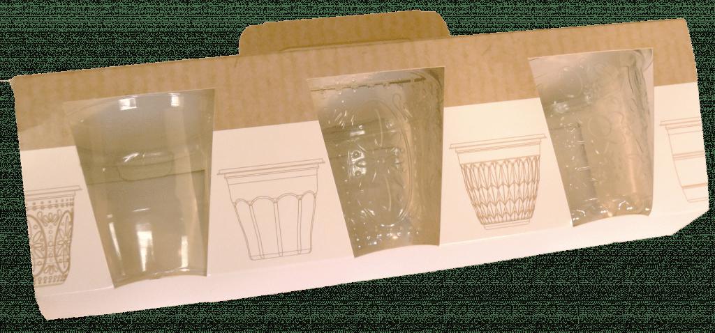 emballage carton pour verrines