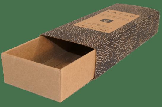 fourreau carton tiroir type kraft