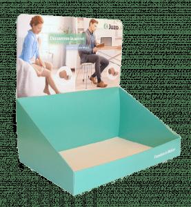 PLV carton pour pharmacie